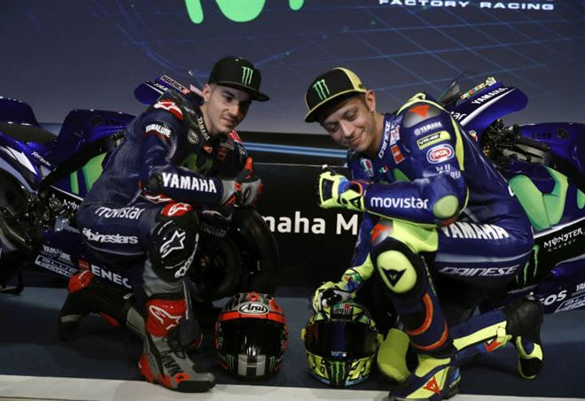 Griglia di partenza MotoGp: i piloti Yamaha sono grandi rivali (LaPresse)