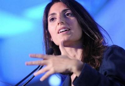 Virginia Raggi, sindaco di Roma (LaPresse)