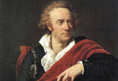 Ritratto di Vittorio Alfieri (Immagine d'archivio)