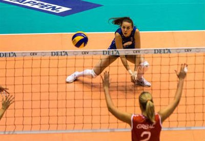 (dall'account Twitter ufficiale @EuroVolleyW)