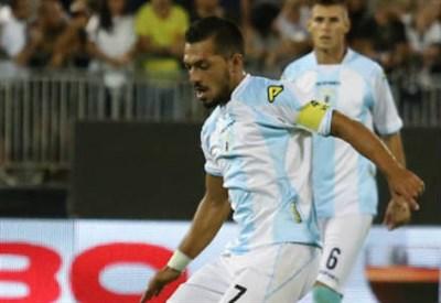 Gennaro Volpe, 34 anni, centrocampista della Virtus Entella (INFOPHOTO)