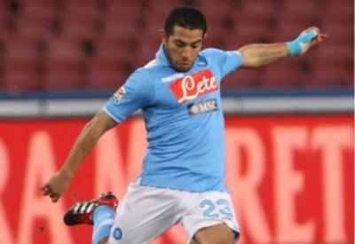 Walter Gargano in maglia Napoli: sarà il grande ex del big-match (Infophoto)