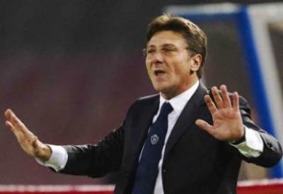 Walter Mazzarri, allenatore Napoli (INFOPHOTO)