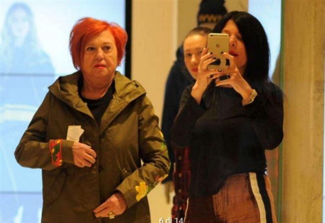 Wanna Marchi e Stefania Nobile, shopping a Milano (TgCom)