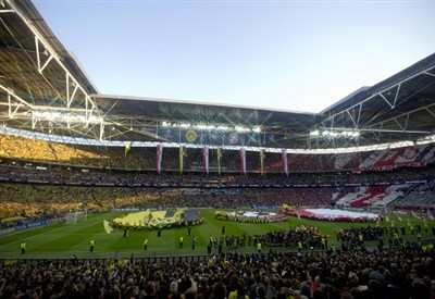 Lo stadio di Wembley (Infophoto)