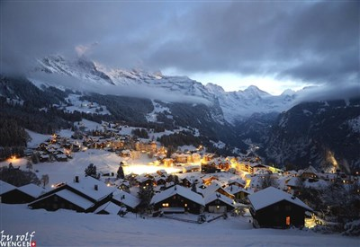 Un panorama di Wengen (da Facebook Wengen Switzerland)