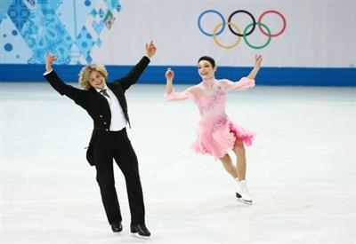 Charlie White e Meryl Davis: medaglia d'oro con record del Mondo (Infophoto)