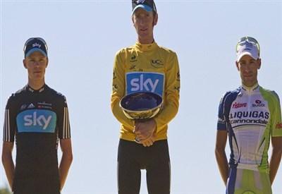 Bradley Wiggins ha vinto il Tour 2012 (Infophoto)