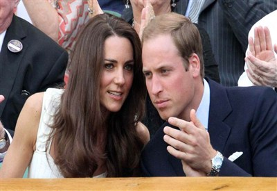 William e Kate (Infophoto)