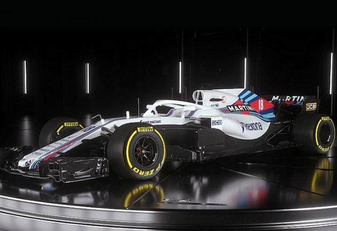Williams, F1: la nuova monoposto (Web)