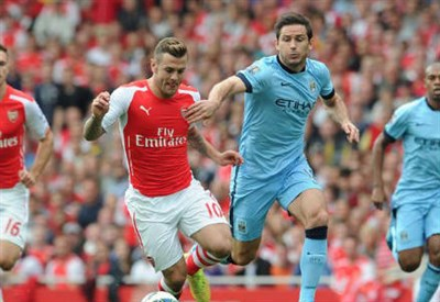 Da sinistra Jack Wilshere, 22 anni e Frank Lampard, 36 (dall'account Twitter ufficiale @Arsenal)