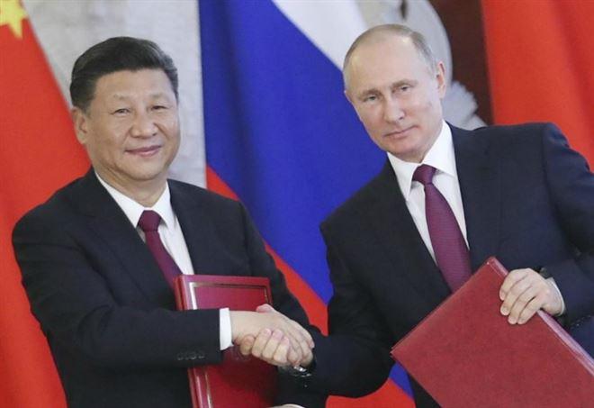 Xi Jinping e Vladimir Putin (LaPresse)