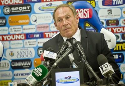 Zdenek Zeman di nuovo in sella: è l'allenatore del Cagliari (Infophoto)