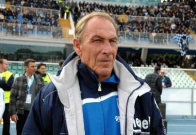 Il tecnico del Pescara Zeman (foto ANSA)