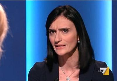 Lucia Zingariello a Otto e Mezzo