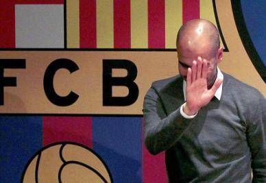 Guardiola saluta: a Giugno lascerà il Barcellona (INFOPHOTO)