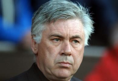 Carlo Ancelotti (foto Ansa)