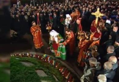 Il patriarca Kirill commemora le vittime