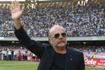 Aurelio De Laurentiis patron del Napoli (Ansa)