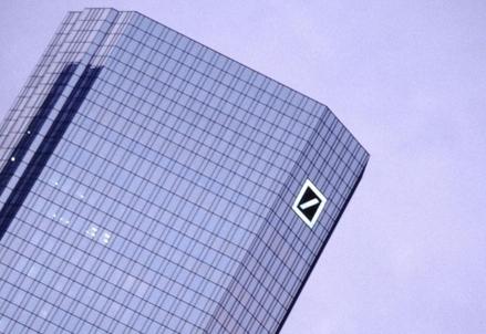 La sede di Deutsche Bank (Lapresse)