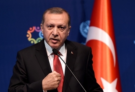 Recep Tayyip Erdogan, presidente della Turchia (LaPresse)