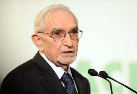 Il presidente dell'Acri, Giuseppe Guzzetti