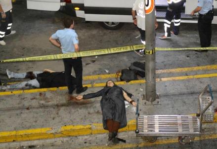 Attentato all'aeroporto Ataturk di Istanbul, Turchia (lapresse)