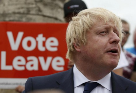 Boris Johnson, alfiere del