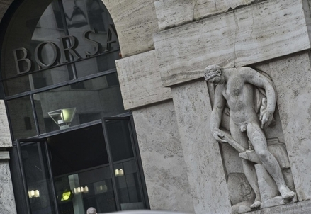 Borsa Italiana oggi (Foto: LaPresse)
