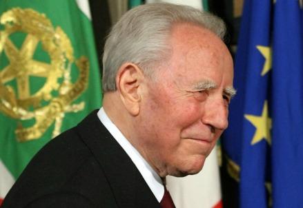 Carlo Azeglio Ciampi (1920-2016) (LaPresse)