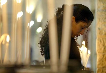 I cristiani in Palestina (Foto: LaPresse)