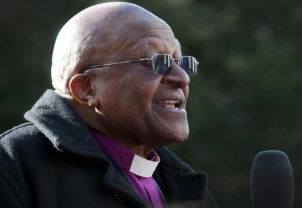 Desmond Tutu (LaPresse)