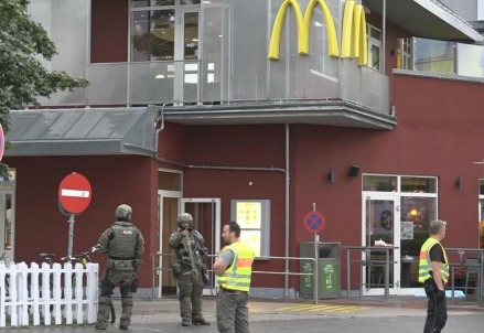 Il fast-food di Monaco in cui è cominciato tutto (LaPresse)