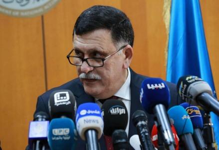 Il premier Fayez Al-Sarraj