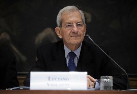 Luciano Violante (LaPresse)
