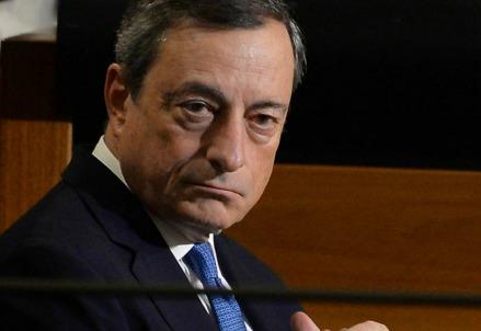 Il presidente della Bce, Mario Draghi (LaPresse)