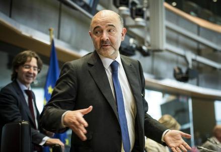 Pierre Moscovici, commissario dell'Unione Europea (LaPresse)