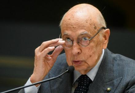 Giorgio Napolitano (LaPresse)