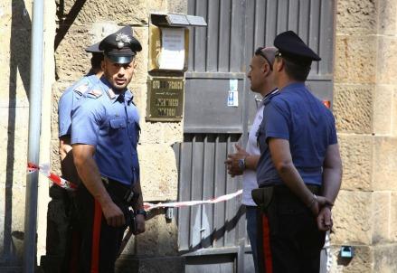 Omicidio Firenze, Via Fiume (Foto: LaPresse)