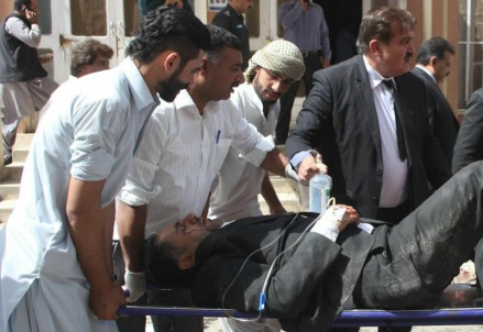 Attentato a Quetta, in Pakistan (LaPresse)