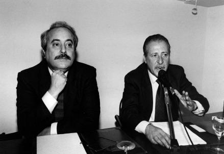 Giovanni Falcone e Paolo Borsellino (LaPresse)
