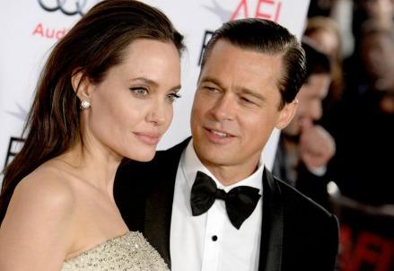 Angelina Jolie e Brad Pitt (LaPresse)