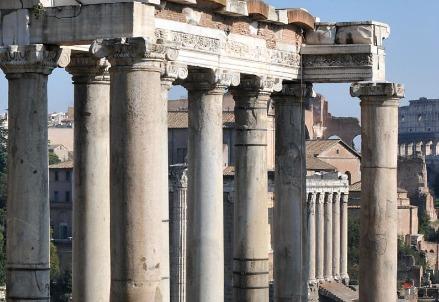 Roma, il foro (LaPresse)