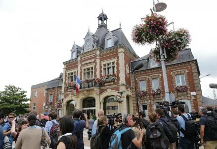 Attentato Rouen, Francia (Foto: LaPresse)