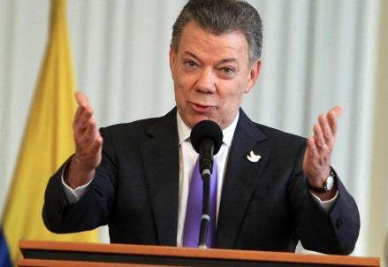 Juan Manuel Santos (LaPresse)