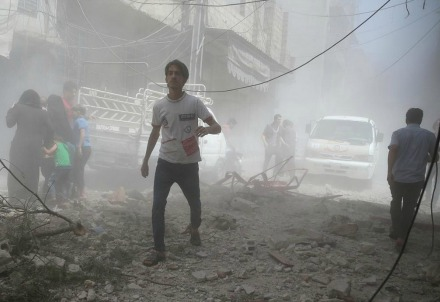 Ad Aleppo (LaPresse)