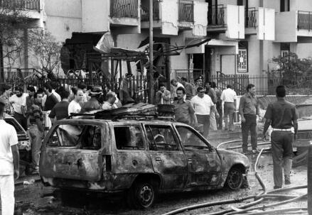 Via D'Amelio, 19 luglio 1992 (LaPresse)