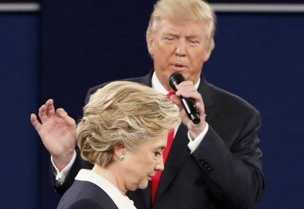 Donald Trump e Hillary Clinton (Foto: LaPresse)