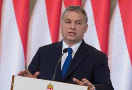 Viktor Orbán, primo ministro dell'Ungheria (LaPresse)