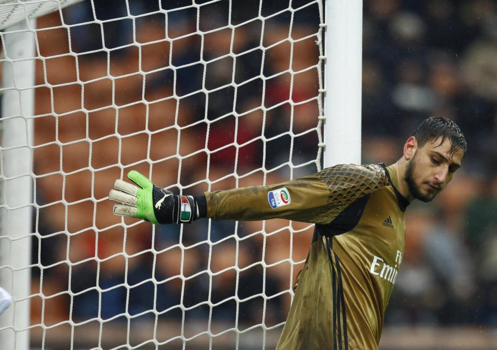 Diretta Milan Fiorentina, Donnarumma protagonista? (Lapresse)